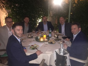 Dinner with First Title