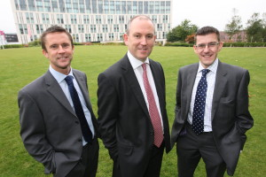 The Management Team from left to right: Keith Burn, Andrew Gibbons and Mike Longfellow.