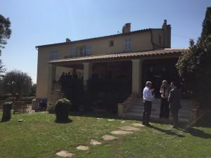Hill Dickinson Lunch at Hugh Frost's Villa